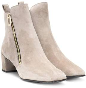 Roger Vivier Polly Zip suede ankle boots