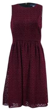 Tommy Hilfiger Women's Crochet A-Line Dress