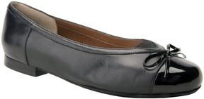 Ros Hommerson Black Oriel Leather Flat - Women