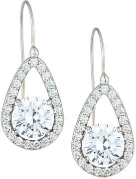 FANTASIA Teardrop Crystal Dangle Earrings