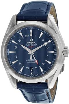 Omega Seamaster Aqua Terra Blue Dial GMT Men's Watch