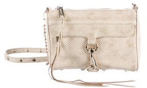 Rebecca Minkoff Embossed Leather M.A.C. Crossbody Bag - GOLD - STYLE