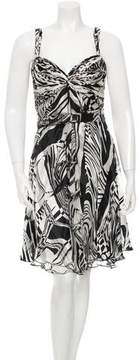 Alberto Makali Silk Printed Dress
