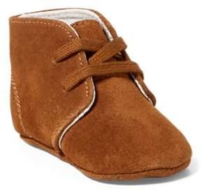 Ralph Lauren Carl Suede Chukka Boot Snuff Suede 1 (6-12Wks)