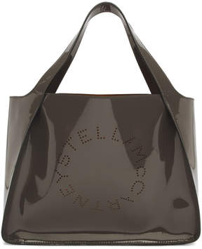 Stella McCartney Grey Patent Tote
