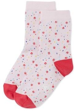 Petit Bateau Girls flower print socks