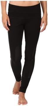 Blanc Noir Performance Mesh Paneled Leggings Women's Casual Pants