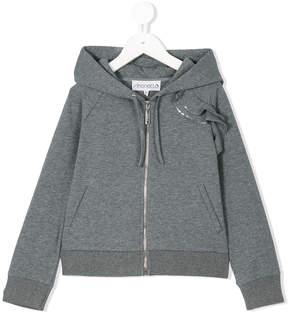 Simonetta zipped hoodie