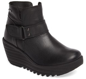 Fly London Women's Yock Waterproof Gore-Tex Wedge Boot