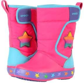 Crocs Lodge Point Lights Star Girls Shoes