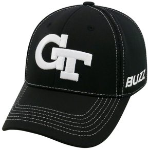 Top of the World Adult Georgia Tech Yellow Jackets Dynamic Performance One-Fit Cap