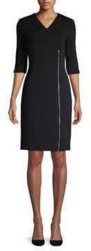 BOSS Deazema Jersey Twill Dress