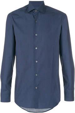 Ermenegildo Zegna classic micro-printed shirt