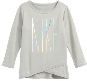 Nike Infant Girl's Dri-Fit Graphic Tee