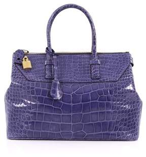 Tom Ford Pre-owned: Petra Tote Crocodile Medium.