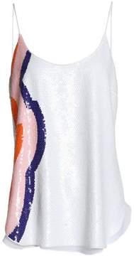 Emilio Pucci Sequined Silk-Chiffon Camisole