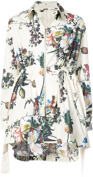 ADAM by Adam Lippes gathered waist floral jacket