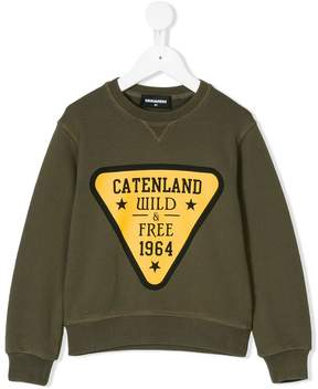 DSQUARED2 Catenland Wild & Free 1964 sweatshirt