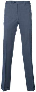 Brioni tailored pleated trousers