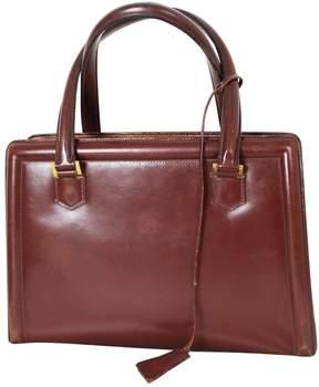 Hermes Pullman leather handbag - BROWN - STYLE