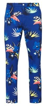 Ralph Lauren Classic Fit Stretch Twill Pant Poster Tropical 36