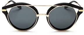 Sonix Preston Round Sunglasses, 51mm
