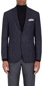 Canali Men's Plaid Wool Flannel Two-Button Sportcoat
