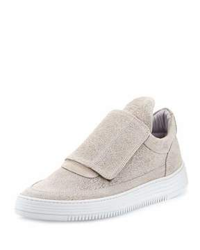 Filling Pieces Low-Top Pattern Grip Sneakers, Gray
