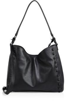 Loeffler Randall Mini Studded Leather Shoulder Bag