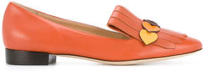 Anya Hindmarch fringed loafers
