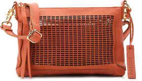 Women's Preston Leather Crossbody Bag -Beige
