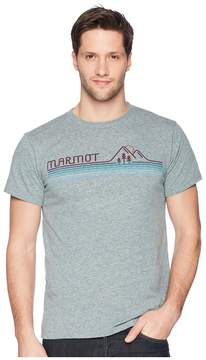 Marmot Short Sleeve Line Set Tee Men's T Shirt