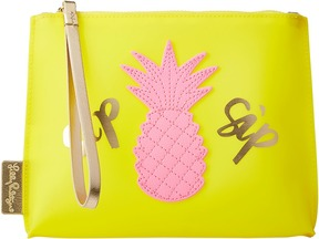Lilly Pulitzer - Jelly Wristlet Pouch Travel Pouch