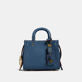 COACH Coach Rogue 17 - BRASS/DARK DENIM - STYLE