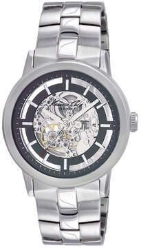 Kenneth Cole New York Kenneth Cole Watch, Men's Automatic Skeleton Stainless Steel Bracelet KC3925