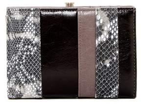 Hobo Luci Snake-Embossed Bifold Wallet