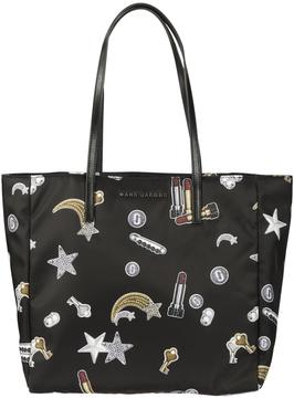 Marc Jacobs Shooting Star Patch Shopper Bag - BLACK MULTI - STYLE