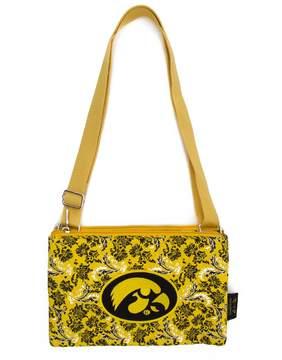 NCAA Iowa Hawkeyes Bloom Crossbody Bag