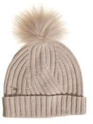 Woolrich Women's Beige Wool Hat.