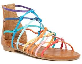 Steve Madden Circus Rainbow Gladiator Sandal (Little Kid & Big Kid)