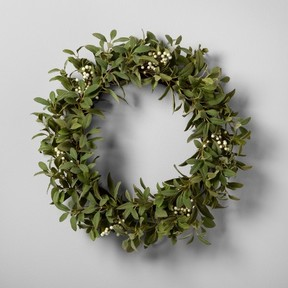 Faux Wreath Target Holiday Decor 2017 Popsugar Moms