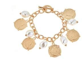 Fornash Calypso Bracelet Coin Pearl