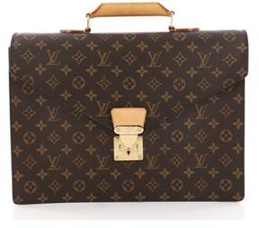 Louis Vuitton Pre-owned: Serviette Conseiller Briefcase Monogram Canvas.