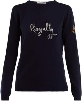 Bella Freud Royalty wool and cashmere-blend sweater