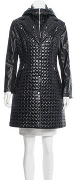 Dawn Levy Hooded Quilted Coat w/ Tags