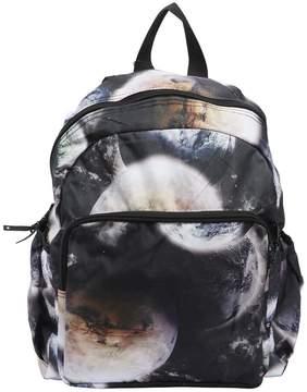 Molo Space Printed Nylon Canvas Backpack