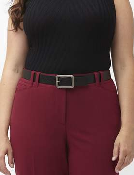 Lane Bryant Smooth square buckle belt