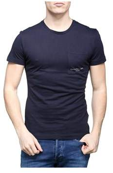 Calvin Klein Jeans Men's Blue Cotton T-shirt.