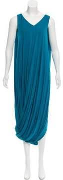 Amanda Wakeley Draped Maxi Dress