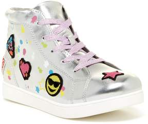 Mia Twlight Patch Hi-Top Sneaker (Little Kid)
